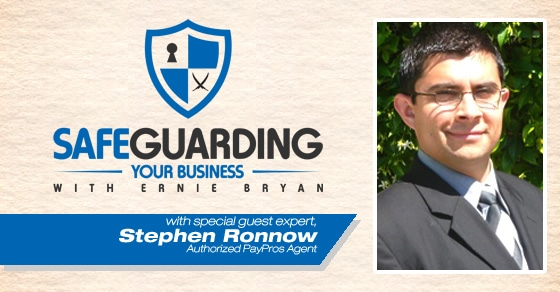 Stephen shares great insights on Merchant Accounts.